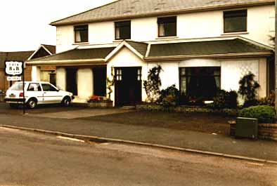 Cara Guest House for bed and breakfast accommodation in Knock, Co Mayo, Ireland.